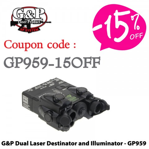 G&P Dual Laser Destinator and Illuminator - GP959